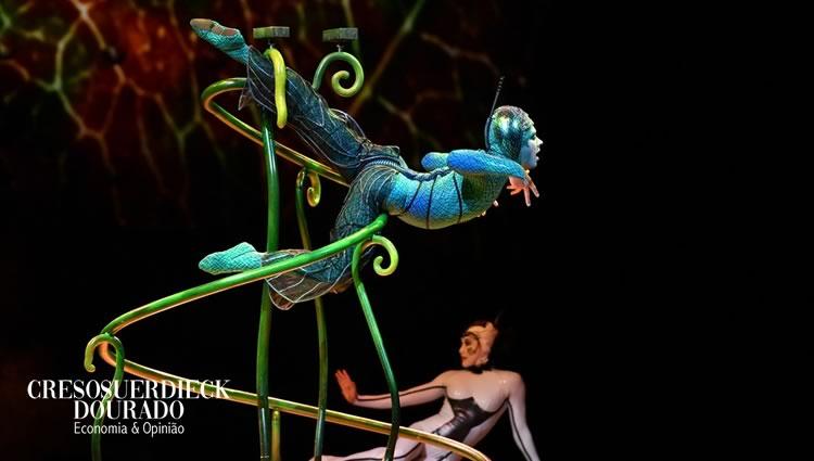 Cirque du Soleil: Sem pão nem circo