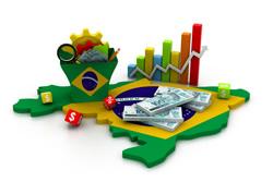 Junho - reação da economia no Brasil
