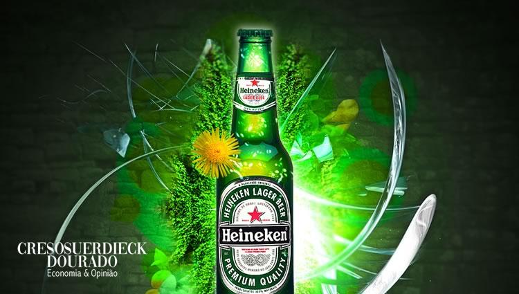 Heineken- aumento de 5%