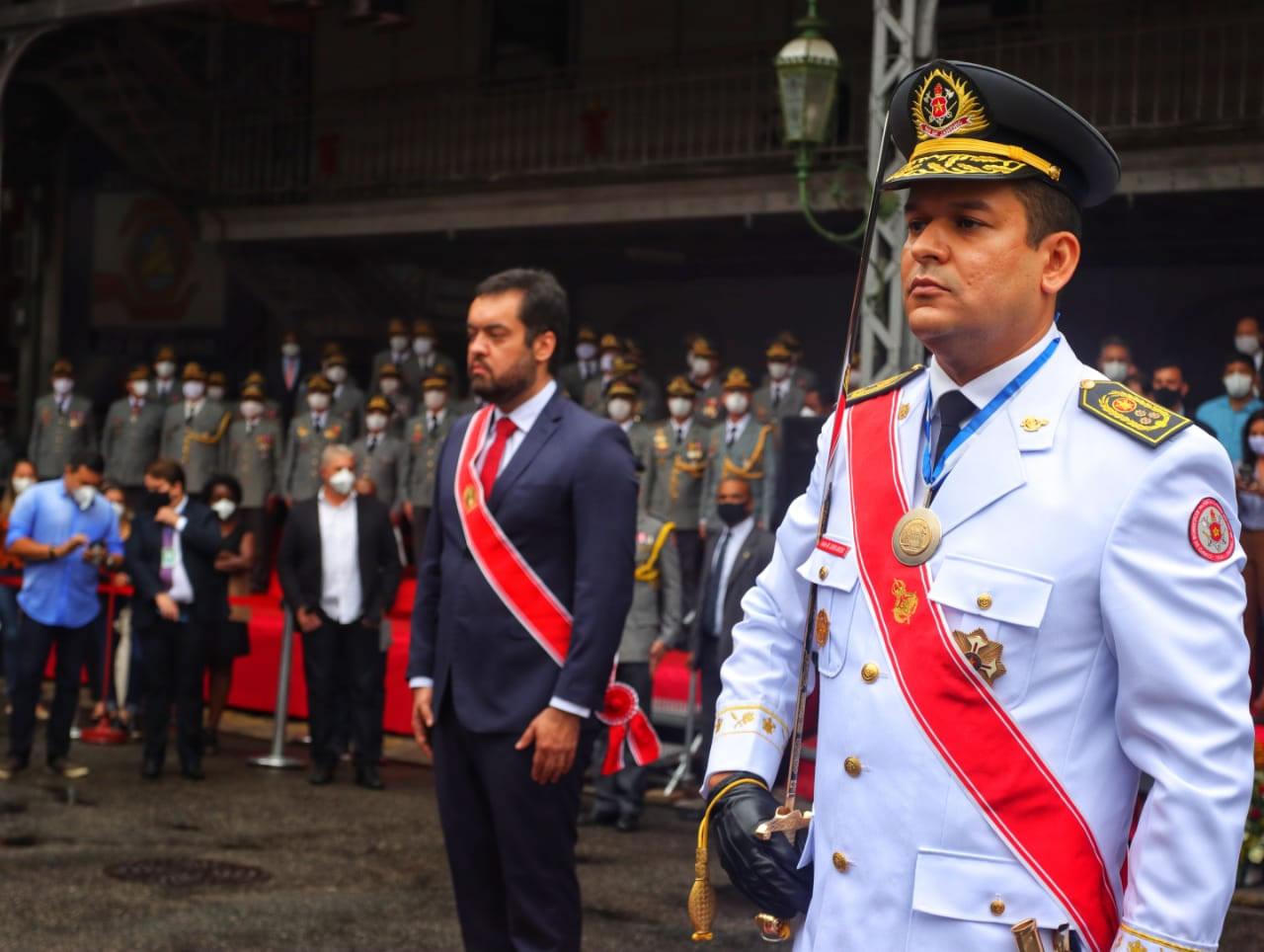 Leandro Sampaio Monteiro é o mais novo Comandante Geral da História do Brasil