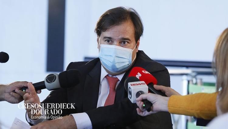 """Rodrigo Maia: """"Momento difícil"""""""