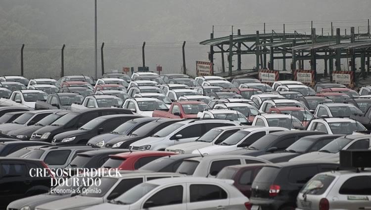 3,16 milhões veículos emplacados