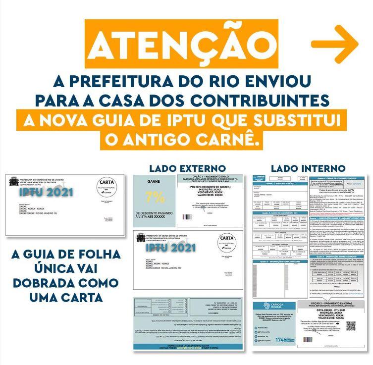 IPTU do Rio de Janeiro 2021